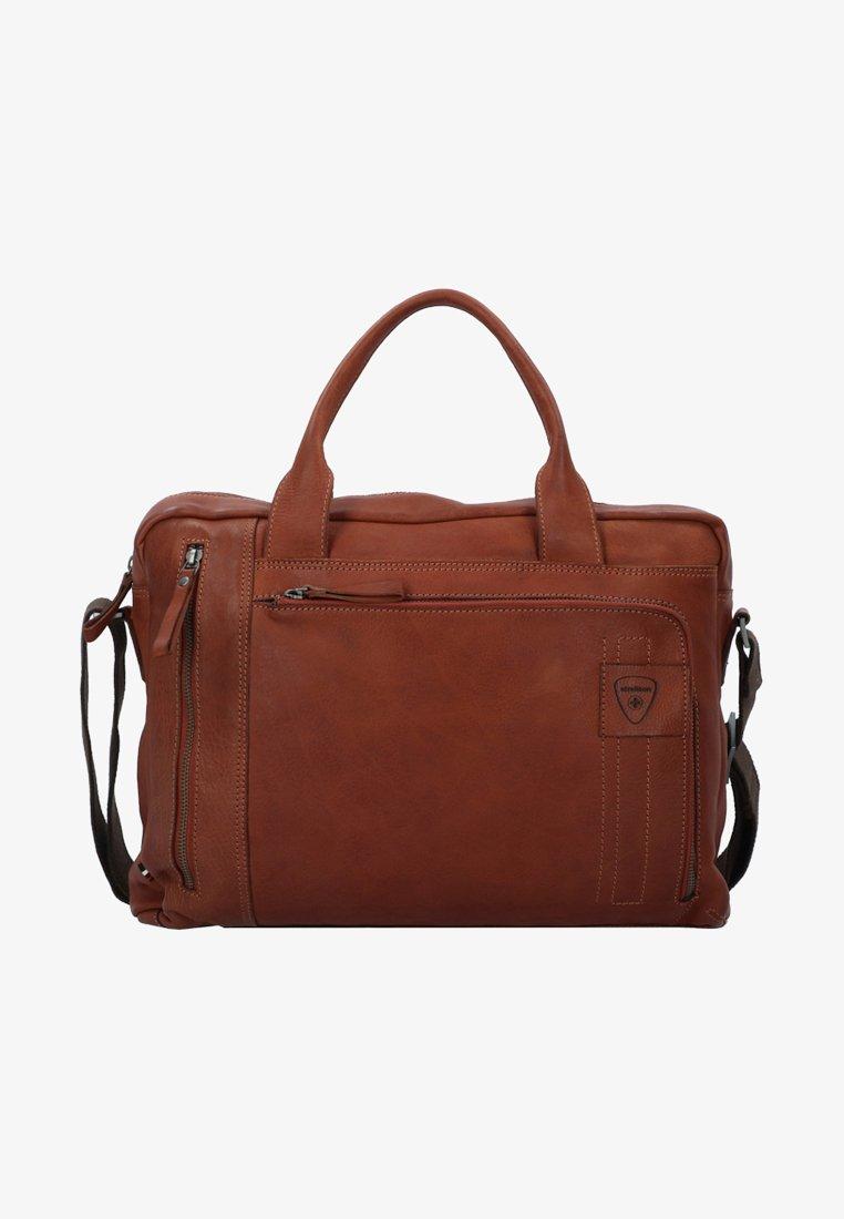 Strellson - UPMINSTER - Briefcase - cognac