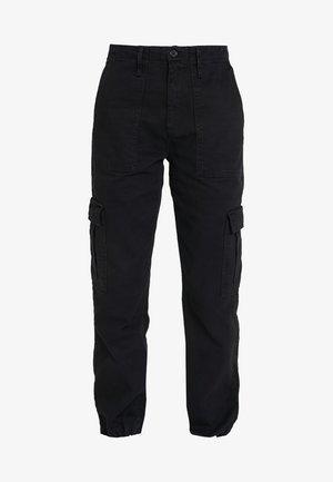 AUTHENTIC CARGO PANT - Cargo trousers - black
