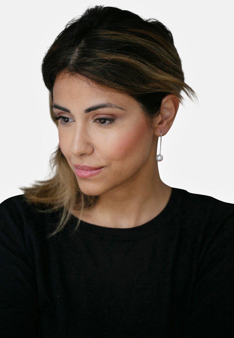 Heideman - OHRHÄNGER - Earrings - white