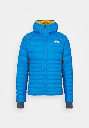 SPEEDTOUR HOODIE - Down jacket - blue/light grey