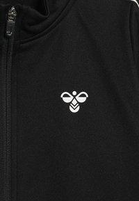 Hummel - HMLASK ZIP JACKET - Zip-up hoodie - black - 4