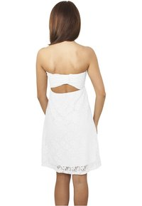 Urban Classics - DRESS - Cocktail dress / Party dress - white - 1