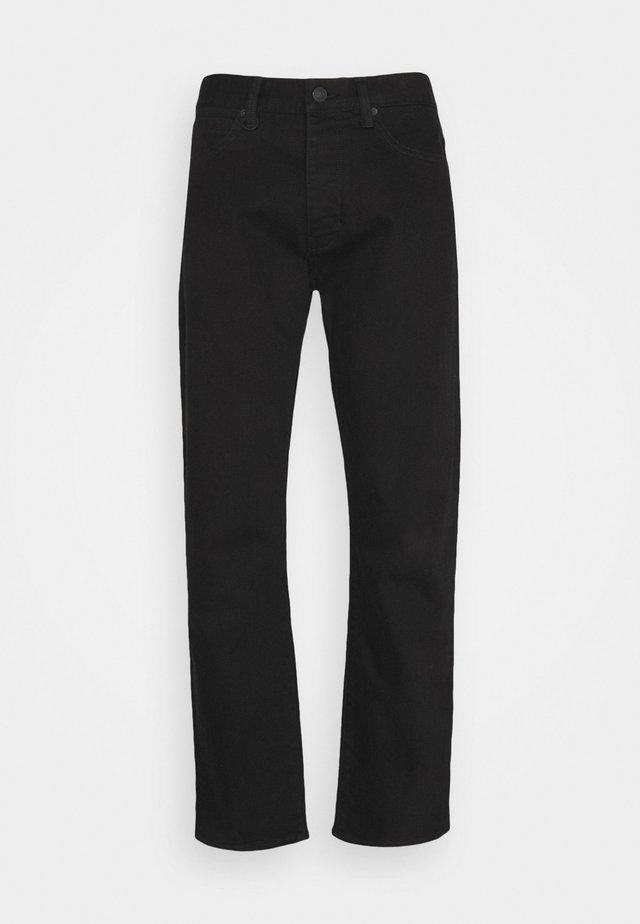 STUDIO RELAXED - Relaxed fit jeans - black denim