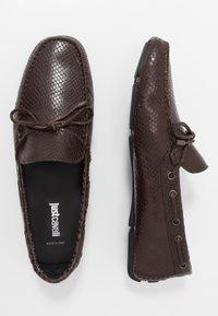 Just Cavalli - Mokkasiner - dark brown - 1