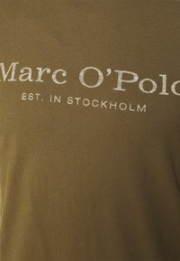 Marc O'Polo - SHORT SLEEVE CLASSIC - T-shirt con stampa - marsh brown - 2