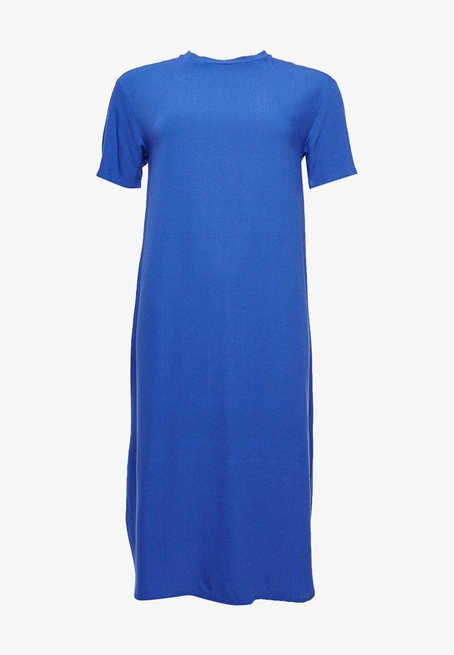 Korte jurk - cobalt