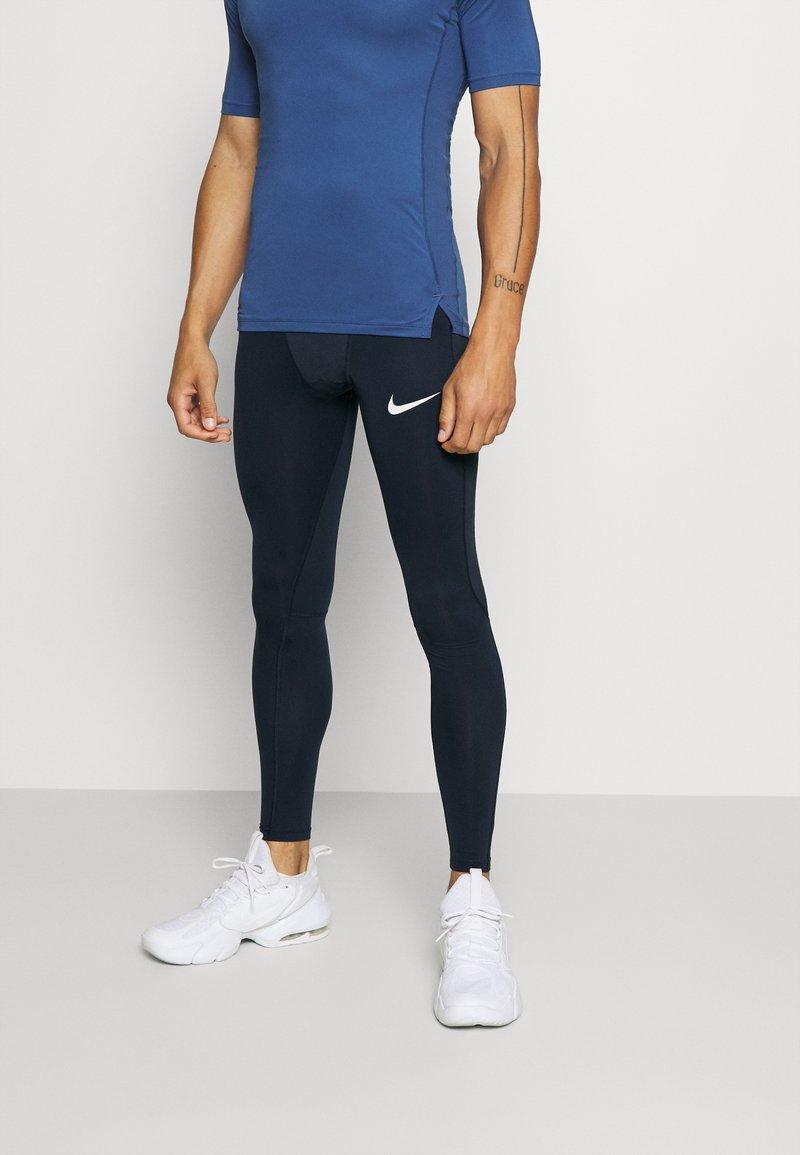 Nike Performance - Medias - obsidian/white
