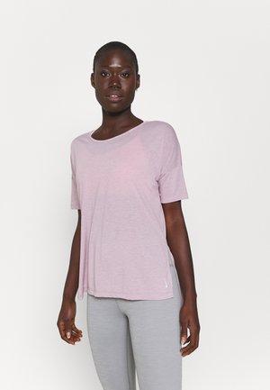 LAYER - T-shirt basic - plum fog/venice