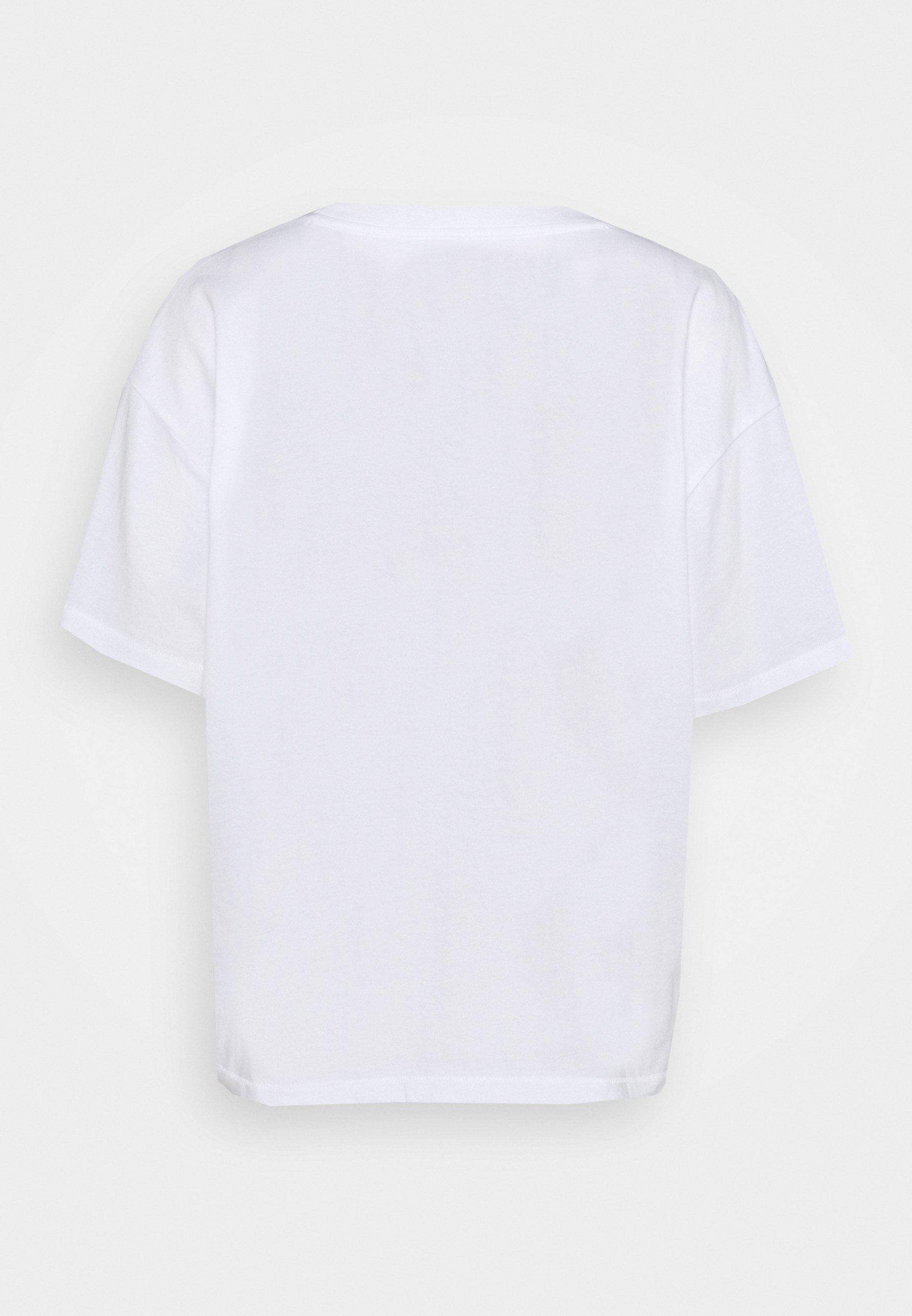 Gap Easy Tee - T-shirts Med Print Fresh White/hvit