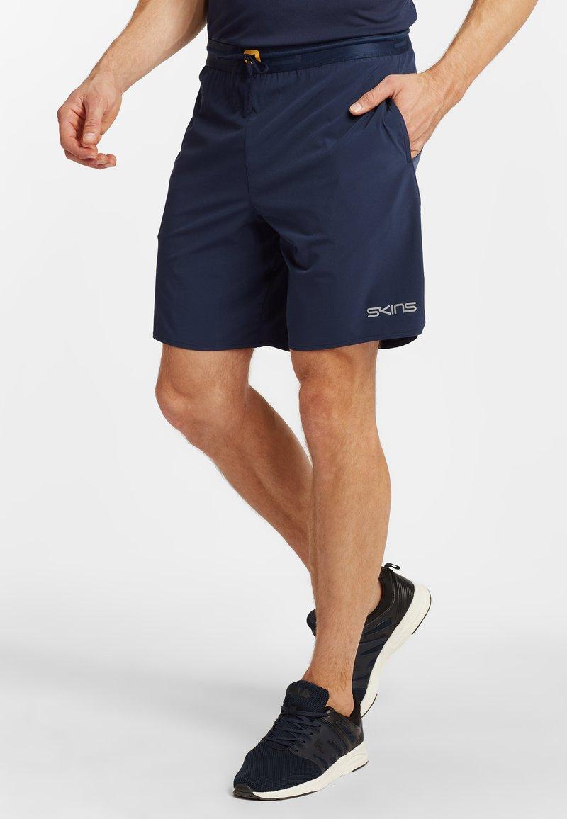 Skins - Sports shorts - navy blue