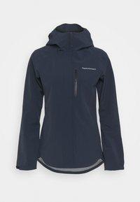 Peak Performance - XENON JACKET - Hardshell jacket - blue shadow - 4