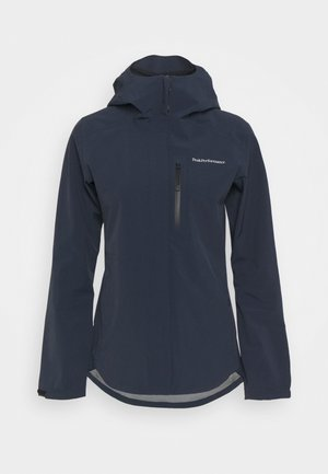 XENON JACKET - Hardshell jacket - blue shadow