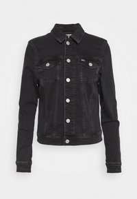 Tommy Jeans - VIVIANNE SLIM TRUCKER - Denim jacket - bird black stretch - 5