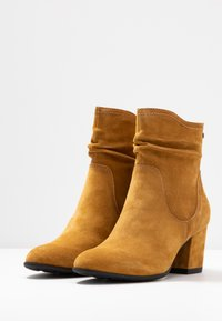 Be Natural - Classic ankle boots - saffron - 4