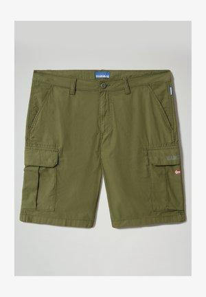 N-ICE CARGO - Shorts - green cypress