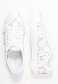 Lauren Ralph Lauren - JOSLIN - Sneakers laag - white - 3
