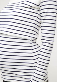 JoJo Maman Bébé - Long sleeved top - ecru/navy - 4