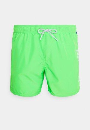 BEACHWEAR - Swimming shorts - green fluo