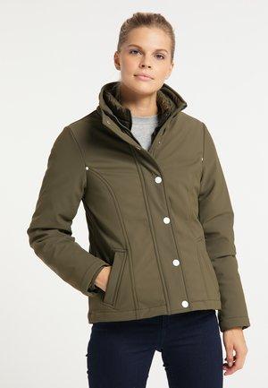 Down jacket - militär oliv
