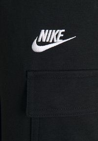 Nike Sportswear - CLUB PANT - Tracksuit bottoms - black/white - 2