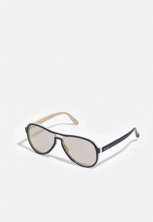 Sunglasses - blue creamy/light brown