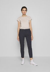 Benetton - TROUSERS - Chinos - navy - 1