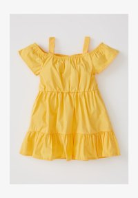 DeFacto - Day dress - yellow - 0