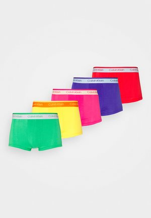 LOW RISE TRUNK 5 PACK - Pants - pink