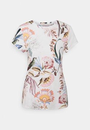 JERIKKO - Print T-shirt - white