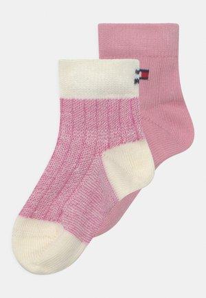SEASONAL BIRDEYE 2 PACK UNISEX - Socks - pink