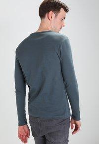 G-Star - BASE 1-PACK  - Camiseta de manga larga - dark slate - 2