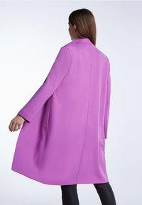 SET - Classic coat - iris orchi - 2