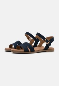 New Look Wide Fit - WIDE FIT GREAT - Sandales - navy - 2