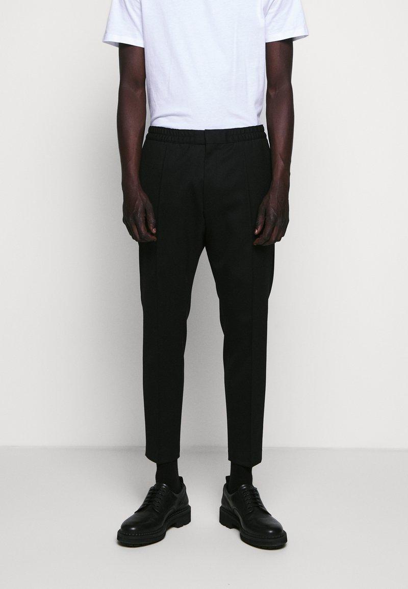 HUGO - HARLYS - Trousers - black