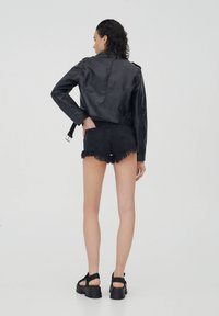 PULL&BEAR - Faux leather jacket - black - 2