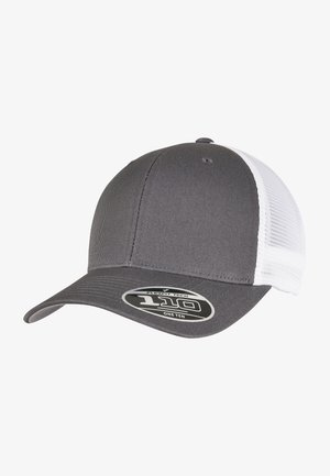 Cap - charcoal/white