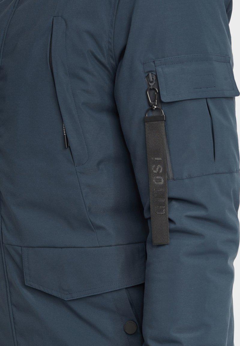 Solid Wintermantel - insignia blue/blau Vwgyc2