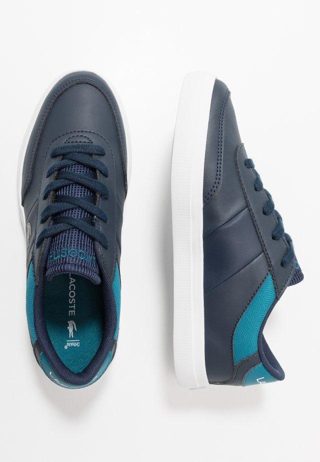 COURT-MASTER - Baskets basses - navy/dark turquoise