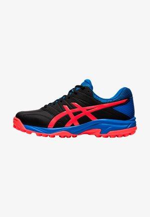 Sneakers laag - black/flash coral