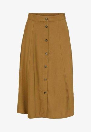 A-line skirt - butternut