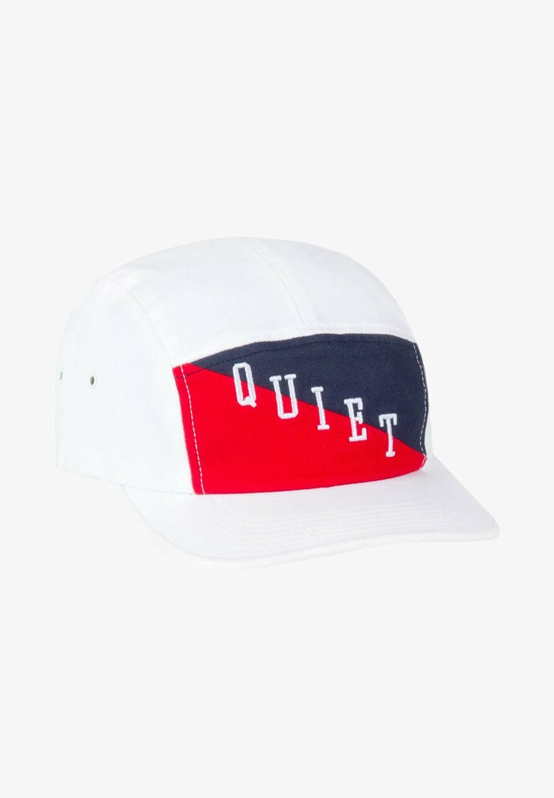The quiet life - FLAG 5 PANEL - Cap - white / red / blue