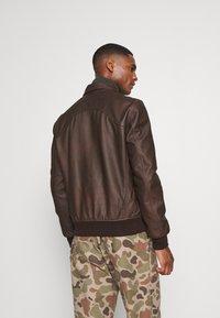 Schott - CALIFORNIA - Leather jacket - brown - 2