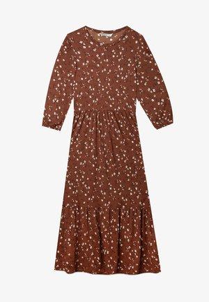 Day dress - dark brown