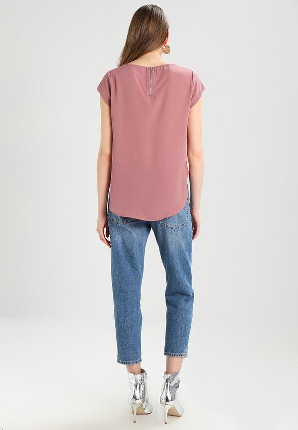 ONLY ONLVIC SOLID - T-shirt z nadrukiem - mesa rose/jasnorÓżowy WZIJ