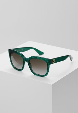 30000981002 - Sunglasses - green/brown