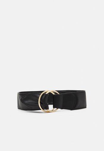 PCAKULA WAIST BELT - Waist belt - black/gold-coloured