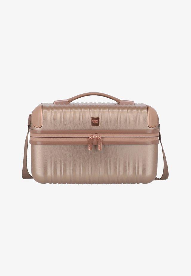Wash bag - rose metallic