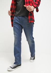 G-Star - 3301 LOOSE - Relaxed fit -farkut - firro denim - 3