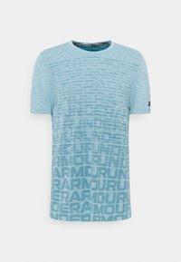 Under Armour - SEAMLESS WORDMARK - T-shirts print - breeze - 0