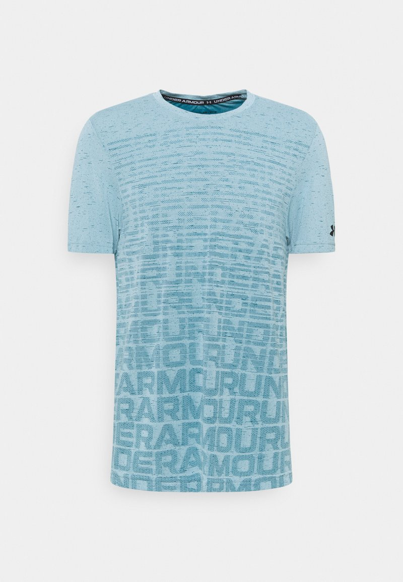 Under Armour - SEAMLESS WORDMARK - T-shirts print - breeze